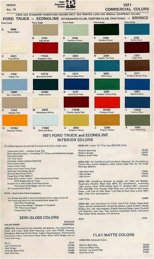 httpwwwbumpsidescomcolors71pjpg - Ford Truck Paint Colors